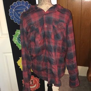 Wrangler brand XL long sleeve button up shirt